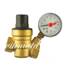 Регулятор давления с маномертом 3/4 TIM (BL6803)