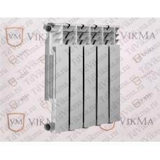 Алюминиевый секционный радиатор VIKMA 500/80 10сек