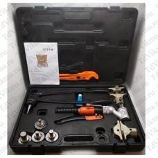 Комплект гидравлического инструмента для труб PEX и аксиальных фитингов TIM FT1240B-QC