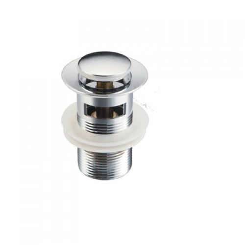 Донный клапан с переливом (хром)