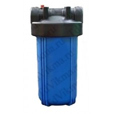 """Колба фильтр для тонкой очистки Big Blue 10 АкваВик (Подключение латунь 1"""")"""