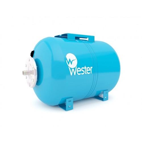 Гидроаккумулятор Wester WAO 50 л горизонтальный установка
