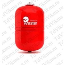 Бак мембранный для систем  отопления Wester WRV8