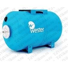 Бак мембранный для водоснабжения Wester WAO 100 гориз