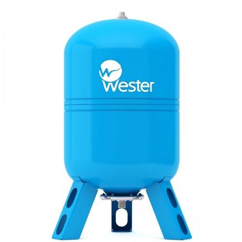 Гидроаккумулятор Wester WAV 150 л вертикальная установка