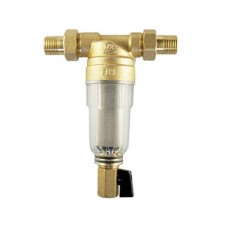 Фильтр Промывной без манометра с американками  (Стеклянным корпусом)  JH-1004Y2  TIM Ø 1/2