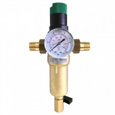 Фильтр промывной (самоочищающийся)  с редуктором давления   «Honeywell»  FК06-1/2AAM