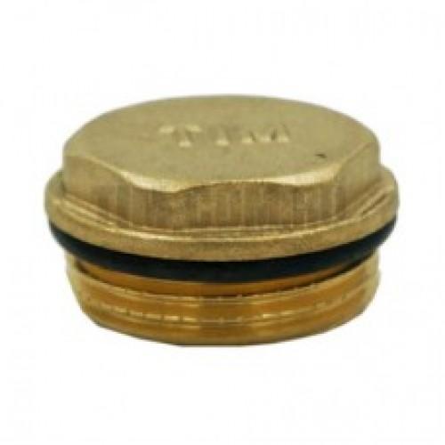 """Заглушка с уплотнительным кольцом 1/2"""" DT002A"""