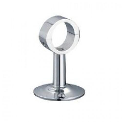 Крепление для полотенцесушителей , телескоп, с кольцом, разъемное, K22-1