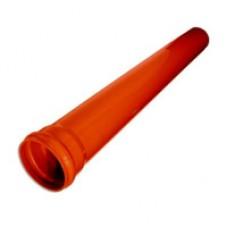 Труба ПВХ ф 110х1,00м s3,2 цвет кирпи  VIKMA