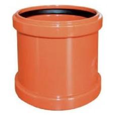 ПВХ Муфта для наружной канализации Ø110