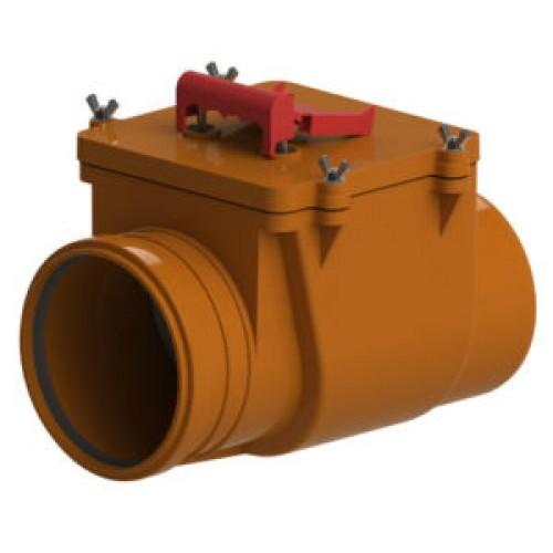 Канализационный обратный клапан 160мм