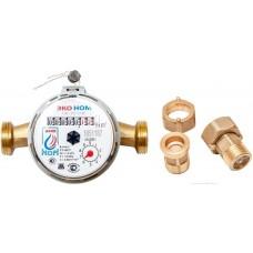 Счетчик  воды универсальный для холодный и горячей воды  ЭКО-НОМ СВ-15 с антимагнитной защитой