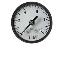 Манометр аксиальный Y-50T-6 (задний) 1/4 TIM