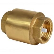 Обратный клапан с латунным затвором 1*1/2 TIM