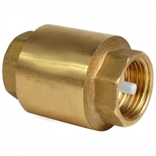 Обратный клапан с латунным затвором TIM 40