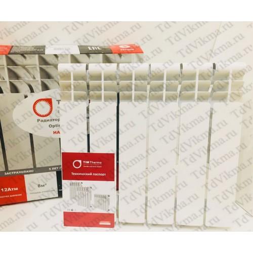 Алюминиевый секционный радиатор отопления Optimum 500/80/6