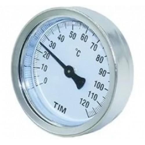 Термометр накладной с пружиной TIM