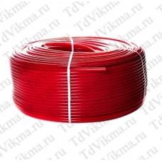 Труба из сшитого полиэтилена с кислородным слоем STOUT 16х2,0 (бухта 200 метров) PEX-a , красная