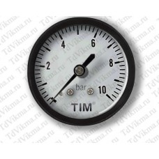 Манометр аксиальный Y-50T-10 (задний) 1/4 TIM
