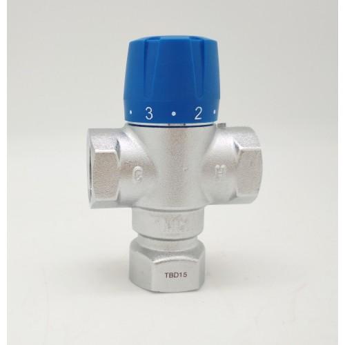 Термостатический трехходовой смесительный клапан ZEISSLER TIM TMV811-02