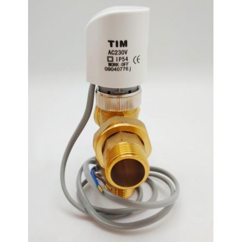 """Зональный клапан с сервоприводом TIM BL8804A 1"""""""