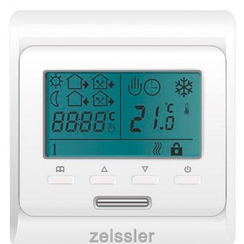 Хронотермостат электронный комнатный с датчиком температуры пола 220В/3А (выносной датчик RTC03/3М в комплекте)