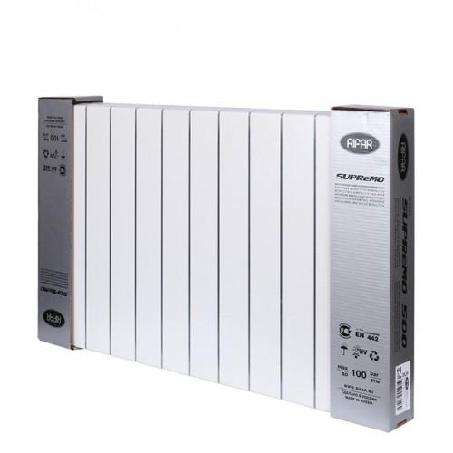 Радиатор Rifar Supremo 350 14 секций биметаллический с боковым подключением 3/4 дюйма