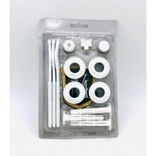 Монтажный комплект для радиатора 1/2* с тремя кронштейнами Vikma