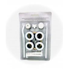 Монтажный комплект для радиатора 1/2* с двумя  кронштейнами Vikma