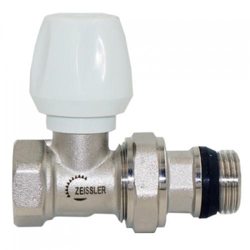 Клапан регулировочный прямой с конусным затвором и кольцевым уплотнением полусгона