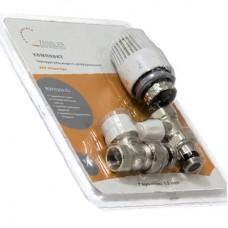 Комплект термостатического оборудование для прямого подключение радиатора