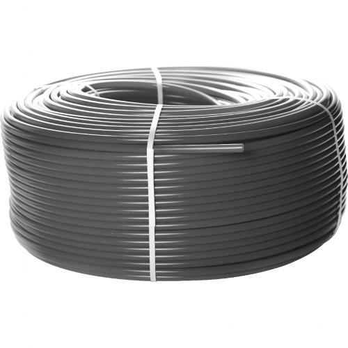 Труба из сшитого полиэтилена с кислородным слоем STOUT 20х2,8 (бухта 100 метров) PEX-a , серая
