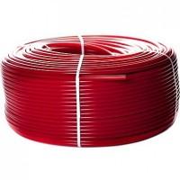 Труба из сшитого полиэтилена с кислородным слоем STOUT 16х2,0 PEX-a , красная