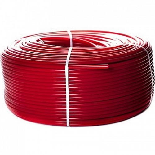 Труба из сшитого полиэтилена с кислородным слоем STOUT 20х2,0 (бухта 100 метров) PEX-a , красная