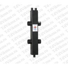 Гидравлический разделитель ГРТК 100/100/40 (195кВт)