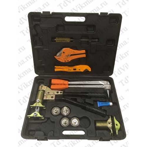 Комплект механического инструмента для аксиальных фитингов