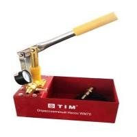 Ручной опрессовочный насос  TIM WM-70