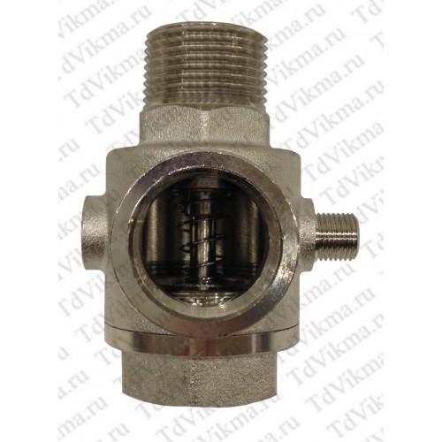 VIKMA пятерник с обратным клапаном  никель 1* наруж/внутр