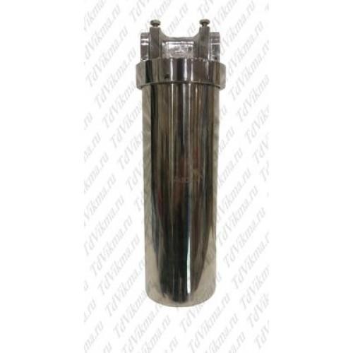 Фильтр тонкой очистки из нержавеющей стали 1/2 с картриджем АкваВик