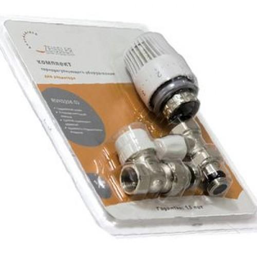 Термостатический комплект для прямого подключения радиатора 3/4 RVKD208.03