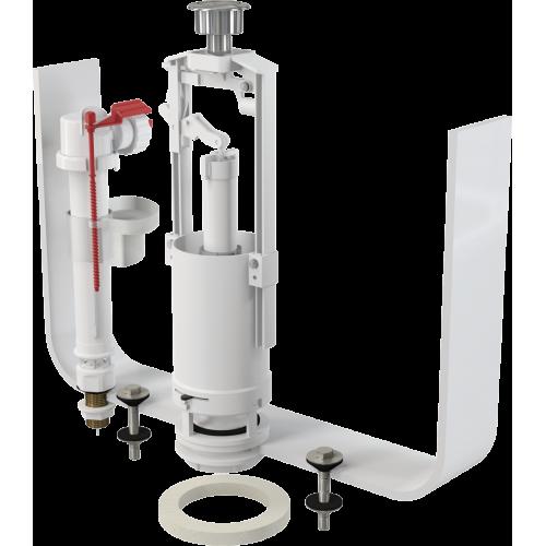 ALcaPLast  арм. SA2000SK1/2 клап.мет.ниж/подвод.