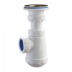 Сифон бутылочный, малый корпус, решетка D= 63 мм А-3204