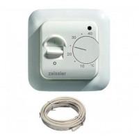 Термостат TIM комнатный с датчиком водяного тёплого пола 3м