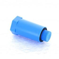 Заглушка ПП  20х1/2 наружная резьба синяя VIKMA