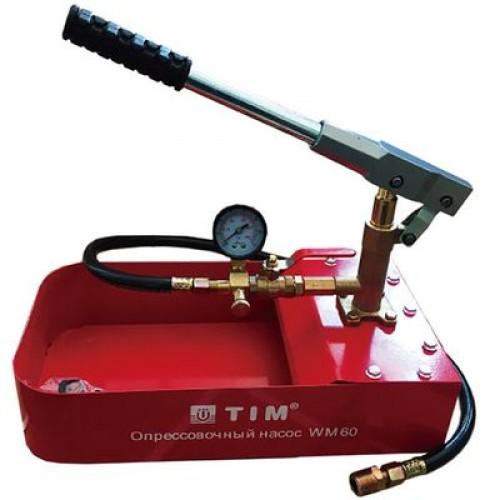 Ручной опрессовочный насос  TIM WM-60