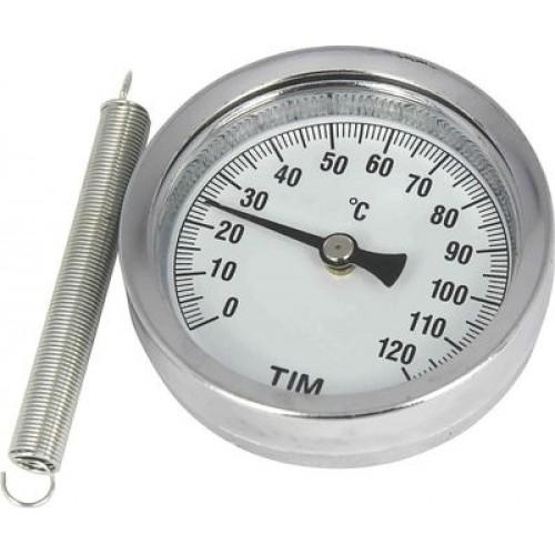 Термометр с пружиной Y-63А-120°C (60)