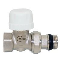 Клапан термостатический  прямой с кольцевым уплотнением полусгона 3/4 RVD206.03