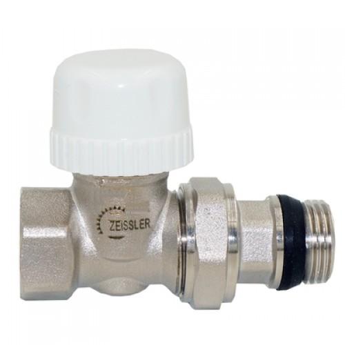 """Клапан радиаторный термостатический прямой, с уплотнительным кольцом """"быстрого монтажа"""" 3/4"""""""
