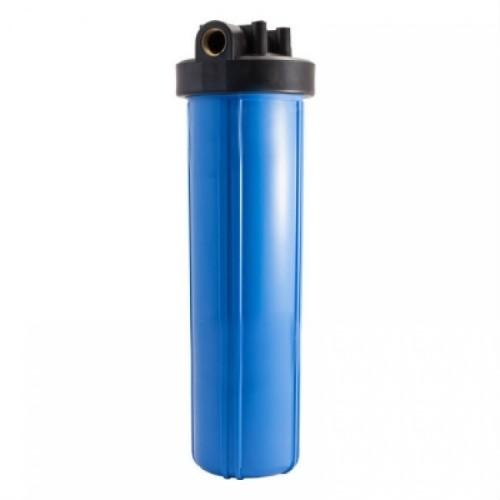 Магистральный фильтр тонкой очистки АкваВик Slime Line 20, подключение латунь Ø1